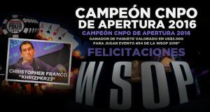 Christopher Franco Campeón