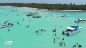 Isla Sanoa,uno de los atractivos del lugar. .