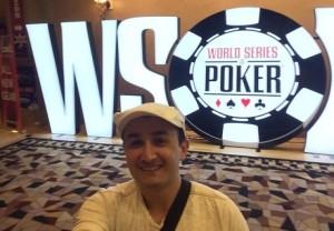 Luis REbolledo estuvo en la WSOP 2017 tras triunfar en el CNPO el año