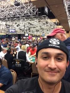 Luis Rebolledo fue Campeón del CNPO Apertura 2017. Pudo viajar a Las Vegas y participar del WSOP.