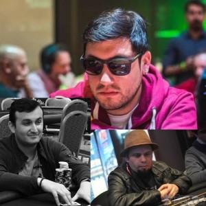 Vívtor Vallejos, Luis Rebolledo y Andrés Gaytán, elegidos del Team DimePóker online.